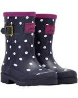 Tom Joule Gummistiefel WELLY girls blau/weiß/beere T_JNRWELLY-NAV