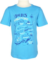 Tom Joule T-Shirt Kurzarm RAY aqua-blau U_JNRRAY-TURQ glow in the dark