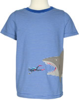Tom Joule T-Shirt Kurzarm SHARK ATTACK gestreift W_JNRARCHIE-BLDBDIV