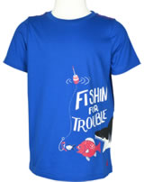 Tom Joule T-Shirt Kurzarm FISHIN´FOR TROUBLE blau W_JNRBEN-BLUFISH