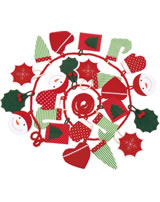 Käthe Kruse Adventskalender grün/rot 0473452