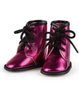 Käthe Kruse Boots pink metallic for dolls 39-41 cm 0133501