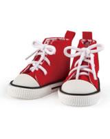 Käthe Kruse Chucks rot für Puppen 39-41 cm 0133502