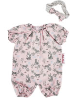 Käthe Kruse Kleidung Baby-Puppe 30-33 cm Jumpsuit Leopardenmotiv 0136814