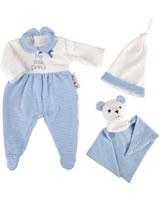 Käthe Kruse Kleidung Baby-Puppe 30-33 cm Schlafanzug My little Prince 0136822