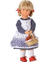 Käthe Kruse Puppe Mimerle mit Körbchen 47 cm 0147901