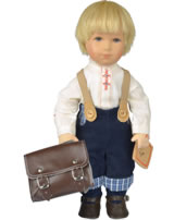 Käthe Kruse Puppe Goldkind Tom Sawyer 28001 Abb. links