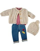 Käthe Kruse Puppenbekleidung Kindergarten Herbst Outfit 39 - 41 cm 0142806