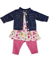 Käthe Kruse Puppenbekleidung Kindergarten Sommer Outfit 39 - 41 cm 0142808