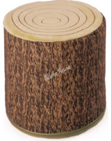 Käthe Kruse Sitzkissen Holzstamm für Bärenland 0155124