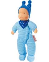 Käthe Kruse Waldorf-Puppe Baby Schatzi blau 0138235