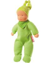 Käthe Kruse Waldorf-Puppe Baby Schatzi grün 0138237