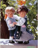 Käthe Kruse Puppe Moritz 28403