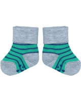 loud + proud Stopper-Socken Streifen forest GOTS 822-fo