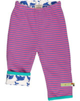 loud + proud Pantalons de tournage DOLPHINS/STRIPES coral 4006-co GOTS