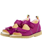 loud + proud Sandals with velcro pink raspberry 908-ra