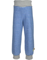loud + proud Fleece pant with cuffs cobalt 4061-cob GOTS