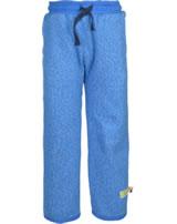 loud + proud Pantalon avec poignets cobalt 4065-cob GOTS
