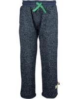 loud + proud Pantalon avec poignets midnight 4065-mi GOTS