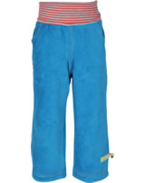 loud + proud Pants corduroy with lining petrol 4037-pe GOTS