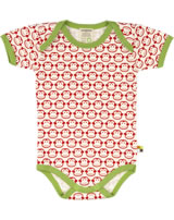 loud + proud Body pour bébé BASIC SINGES tomato 283-to