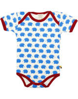 loud + proud Baby bodysuit HEDGEHOGS sky 201-sk