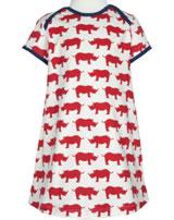loud + proud Courroie de robe ALLOVER Rhino et guépard cayenne 6014-cay GOTS
