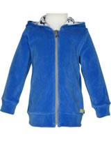 loud + proud Nicki-Jacke mit Kapuze PINGUIN cobalt 3061-cob GOTS