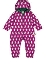 loud + proud Outdoor-Overall Bionic Finish ECO PINGUIN berry 5052-ber GOTS