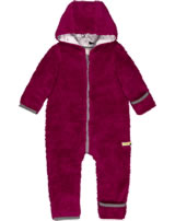 loud + proud Overall Sweat PENGUIN AND SEAL berry 5059-ber GOTS