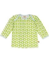 loud + proud Shirt manches longues LIONS lime GOTS 275-li