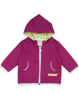 loud + proud Veste BASIC LION fuchsia 371-fu GOTS