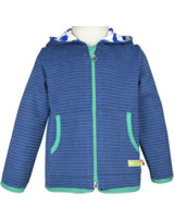 loud + proud Sweat-Jacke m.Kapuze ROBBE RINGEL midnight 3034-mi GOTS
