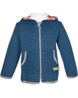 loud + proud Sweat-Jacke RINGEL midnight 3026-mi GOTS