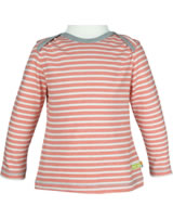 loud + proud Shirt manches longues STRIPES sunrise 1015-su GOTS