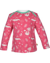 loud + proud Shirt long sleeve ALLOVER azalea 1040-aza GOTS