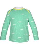 loud + proud Shirt long sleeve ALLOVER mint 1045-min GOTS