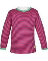 loud + proud Shirt long sleeve azalea 1038-aza GOTS