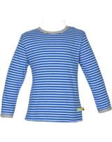 loud + proud T-Shirt Langarm RINGEL cobalt 1028-cob GOTS