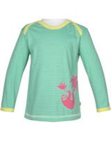 loud + proud Shirt long sleeve SLOTH mint 1037-min GOTS