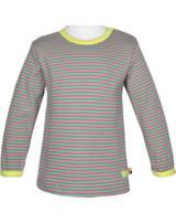 loud + proud Shirt long sleeve mint 1038-min GOTS