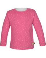 loud + proud Shirt long sleeve WAFFLE STRUCTURE azalea 1046-aza GOTS