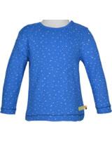 loud + proud Shirt long sleeve WAFFLE STRUCTURE cobalt 1046-cob GOTS