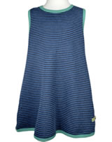 loud + proud Pinafore dress striped midnight 6019-mi GOTS