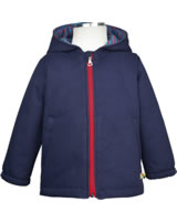 loud + proud Wattierte, wasserabweisende Outdoor-Jacke midnight 3030-mi GOTS