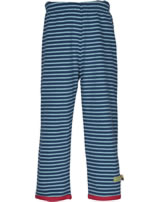 loud + proud Pantalon de tournage STRIPES guépard ultramarin 4049-ul GOTS