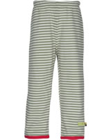 loud + proud Pantalon de tournage STRIPES Rhino olive 4049-oli GOTS