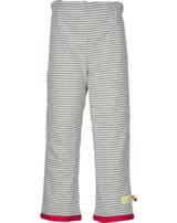 loud + proud Pantalons de tournage SNAIL grey 4067-gr GOTS