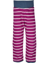 loud + proud Pantalon réversible orchid 4032-or GOTS