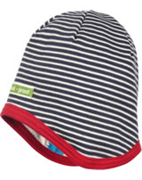 loud + proud Reversible cap HEDGEHOG navy 7061-ny GOTS